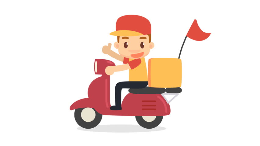 Delivery Man.」の動画素材(ロイヤリティフリー)15071317 | Shutterstock