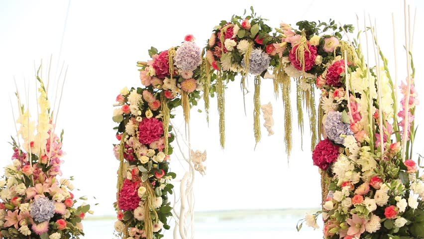 Wedding Flower Arch Decoration