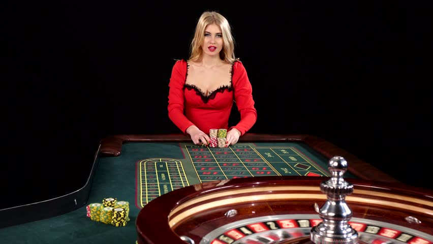 Sexy Young Girl in Casino. Stock Footage Video (100% Royalty-free) 15130489  | Shutterstock