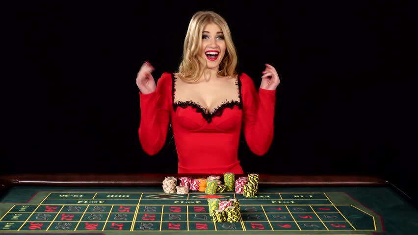 Beautiful Girl in Red Sexy Stockvideoklipp på (helt royaltyfria) 15130528 |  Shutterstock