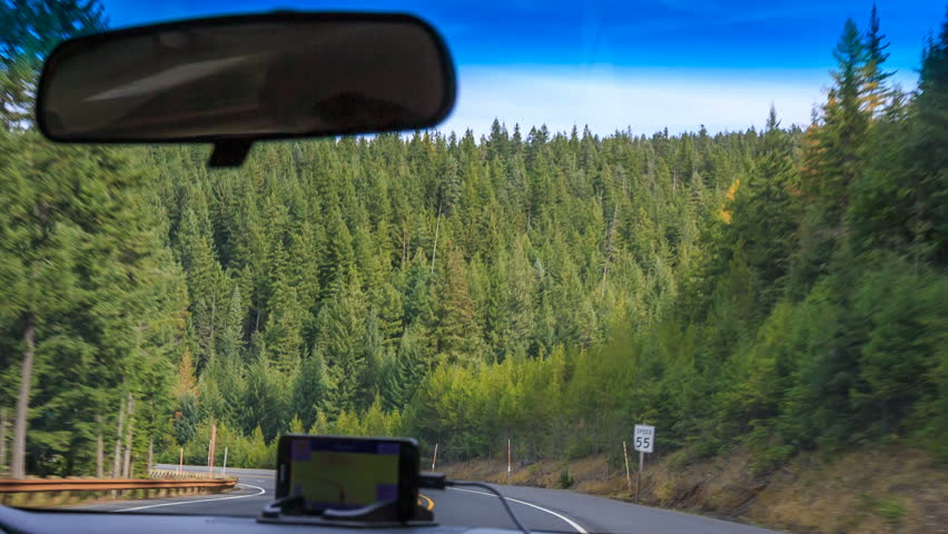Road trip, by car on the roads of Oregon, WA, USA | Shutterstock HD Video #15137980