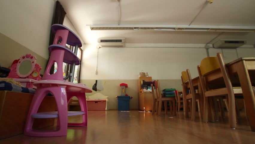 Empty kindergarten classroom | Shutterstock HD Video #15206299
