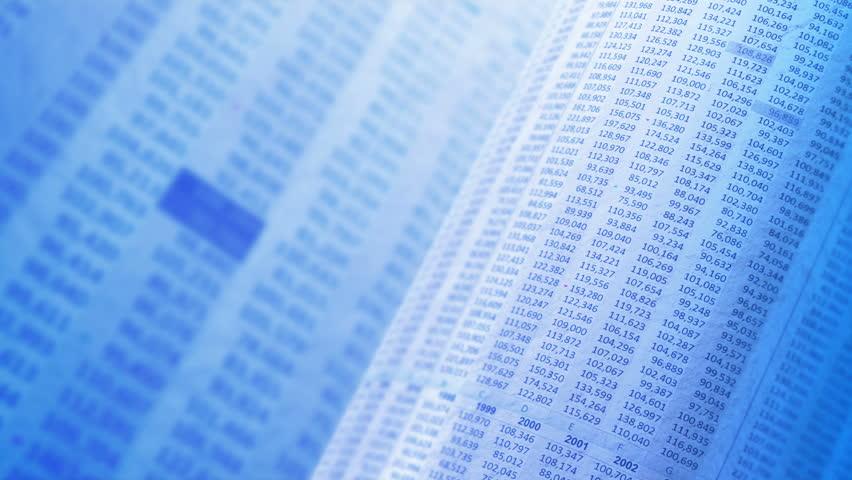 Financial, business or scientific figures, LOOP, 4k - Ultra HD. | Shutterstock HD Video #15235375