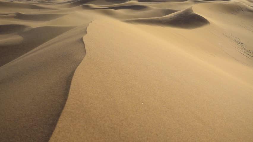 Sand storm on sand dunes   Shutterstock HD Video #15300229