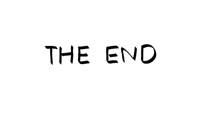 Hand Drawn the End」の動画素材(ロイヤリティフリー)15325786 | Shutterstock