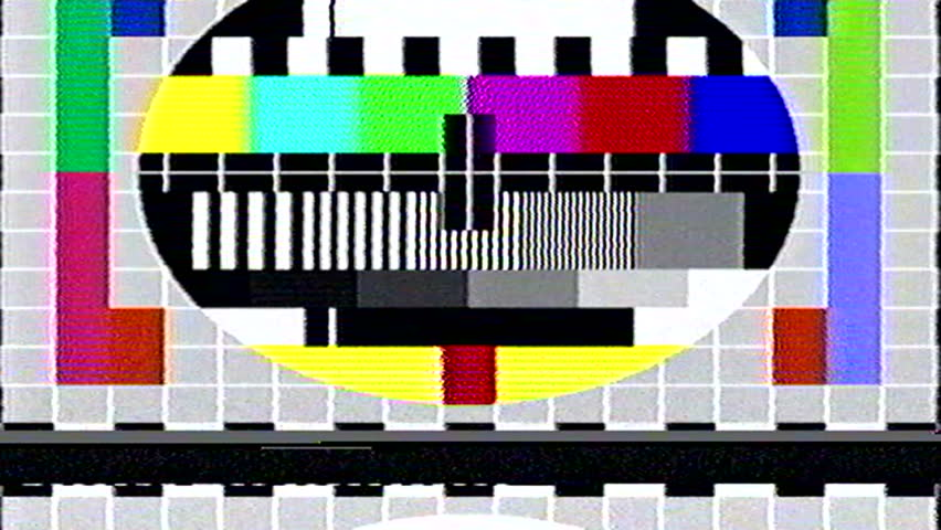 Tv static noise color bars bad signal | Shutterstock HD Video #15382390