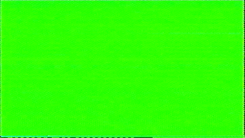 Television color bars VHS bad signal green screen  | Shutterstock HD Video #15390310
