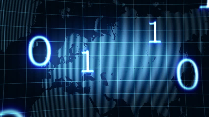 Abstract animated background with world map and numbers,animation HD 1080   Shutterstock HD Video #1539808