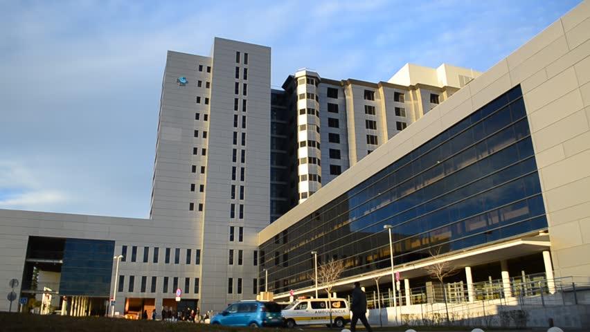 Generic Health Care Hospital Exterior Building