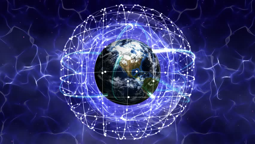 Earth, Connection Network Concept, Loop, 4k    Shutterstock HD Video #15547777