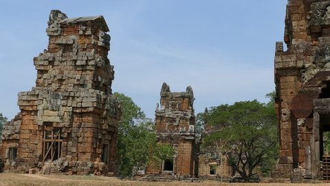 Historical temples in Angkor Wat Cambodia