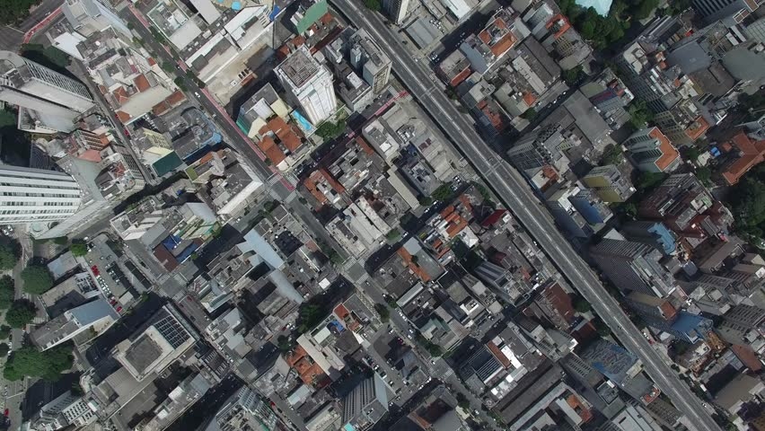 Top view of Sao Paulo downtown, Brazil #15685192