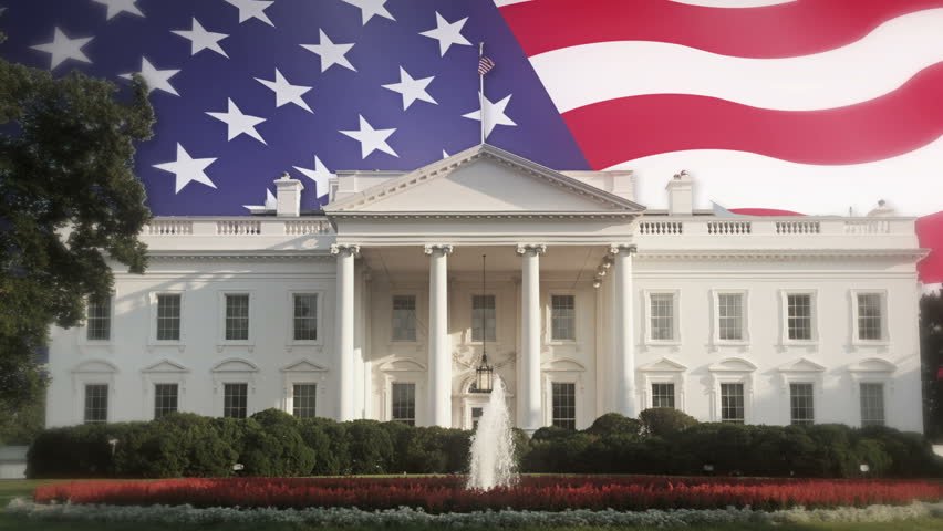White House And Usa Flag Stock Footage Video 100 Royalty Free 15700624 Shutterstock