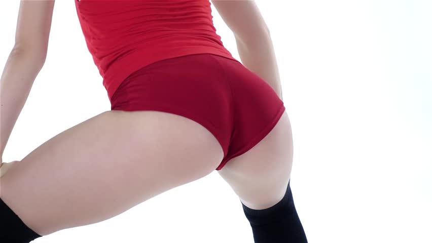 Sexy girl shaking