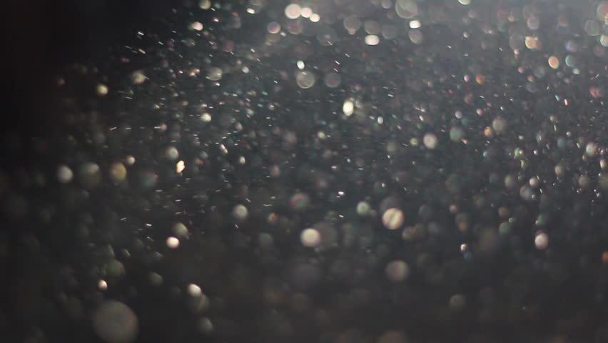 с каким эффектом получаются пылинки на фото вами