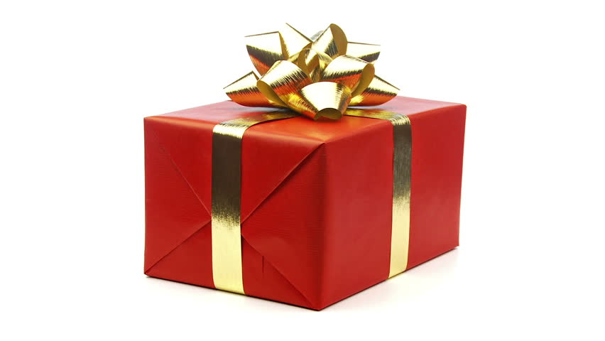 Large Red Christmas Present With Stock Footage Video 100 Royalty Free 1584085 Shutterstock