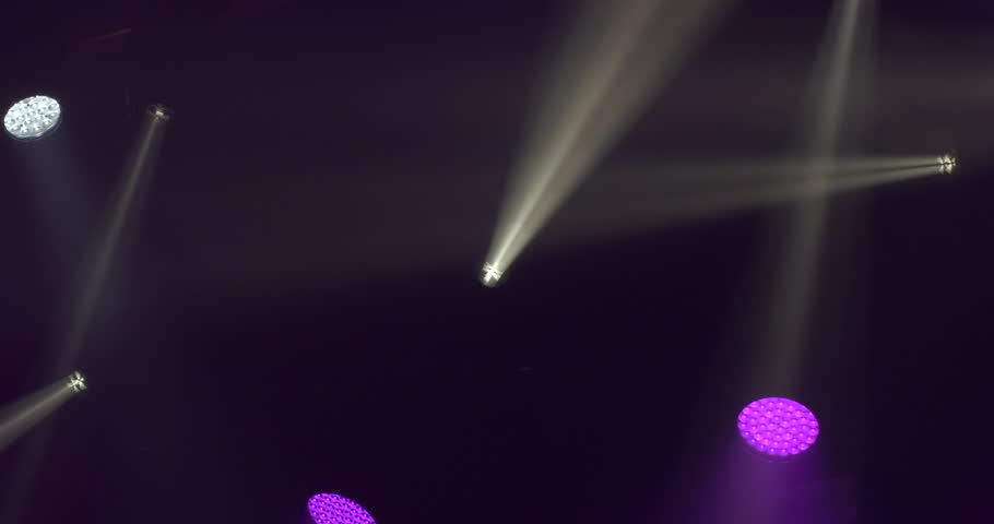Blurred Colorful Disco Light Background | Shutterstock HD Video #15953665
