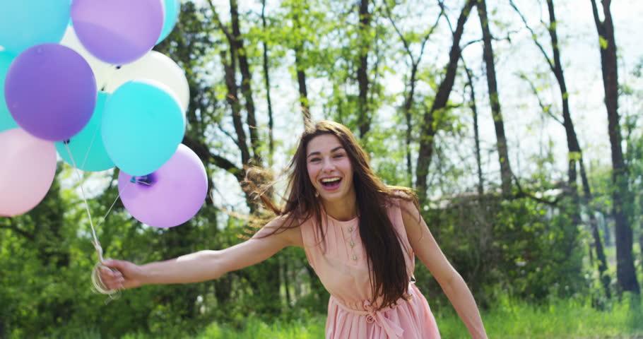 Happiness Beauty Girl With Healthy Stockbeeldmateriaal En Video S Rechtenvrij 15964060 Shutterstock