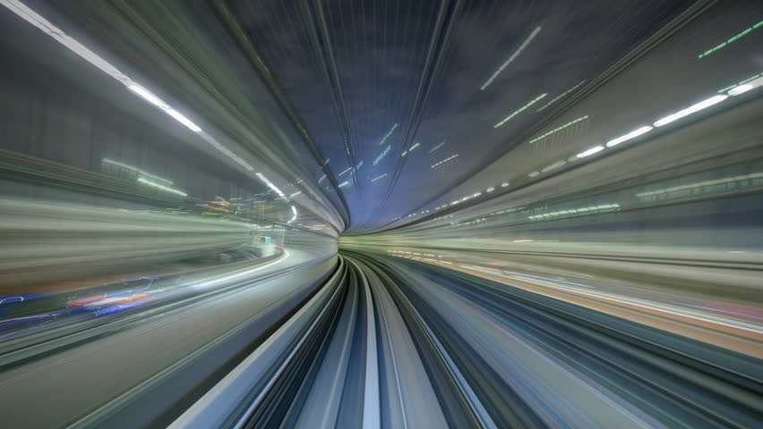 Tokyo, Japan odaiba train time lapse. | Shutterstock HD Video #15971383