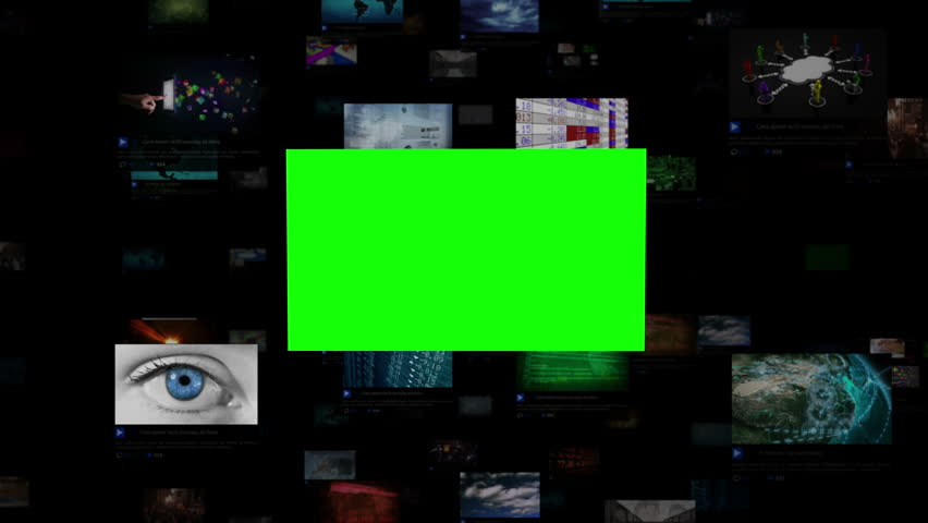 Video Wall with green screen. Journey through video screens showing multiple themed videos. Loopable. Chroma key screens for adding your own footage. All videos available in my portfolio.  | Shutterstock HD Video #15981427