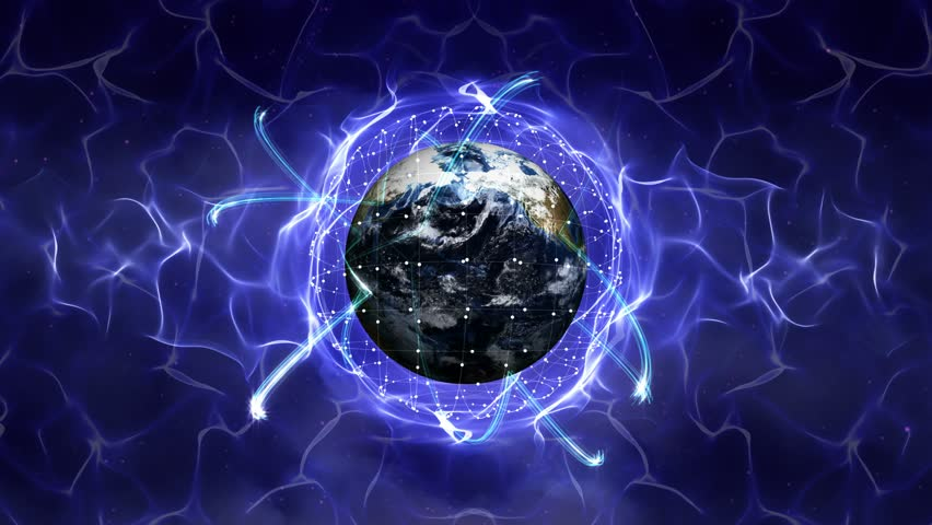 Earth, Connection Network Concept, Loop, 4k    Shutterstock HD Video #16055671