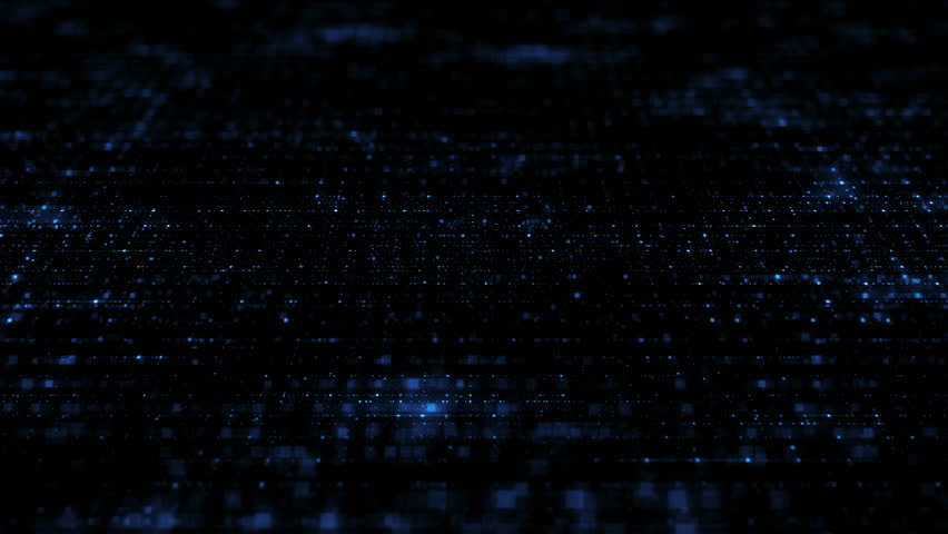 Loopable abstract digital technology background made of particles | Shutterstock HD Video #16059430