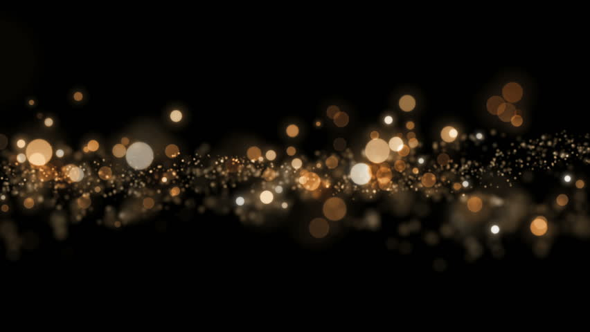 Space gold background with particles. Space gold dust with stars on black background. Sunlight of beams and gloss of particles galaxies. #16080040