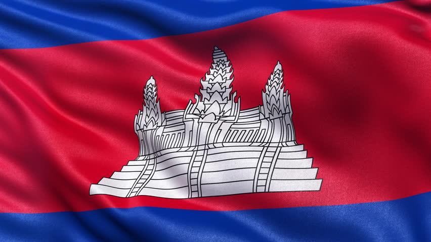 флаг камбоджа фото могилу