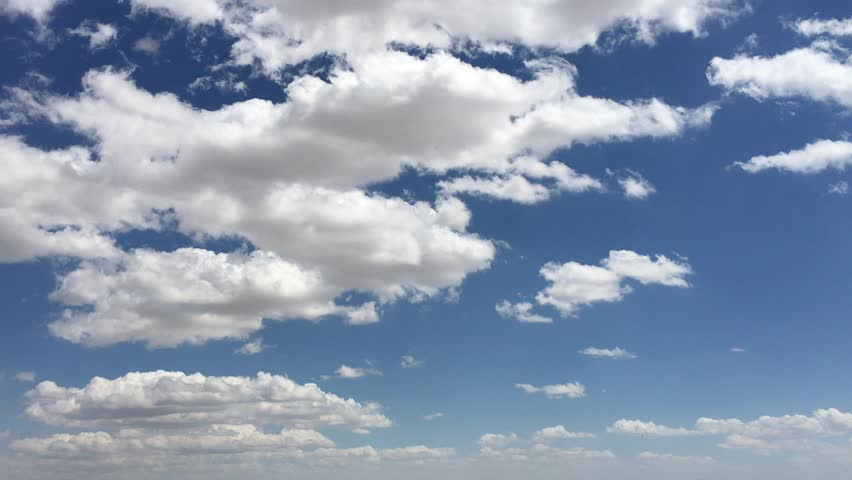 Blue sky background with white clouds  #16146691