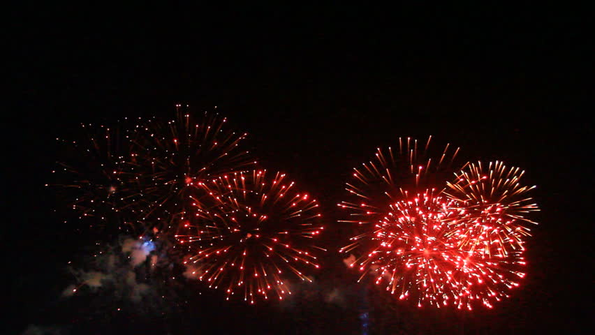 Fireworks light up the sky with dazzling display | Shutterstock HD Video #16199632