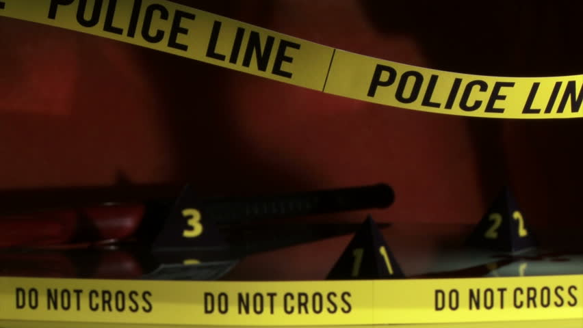Crime Investigation, Police Line, Yellow Stock Footage Video (100%  Royalty-free) 1624408   Shutterstock