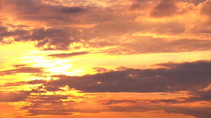 Beautiful Golden Sunset time lapse | Shutterstock HD Video #16257115