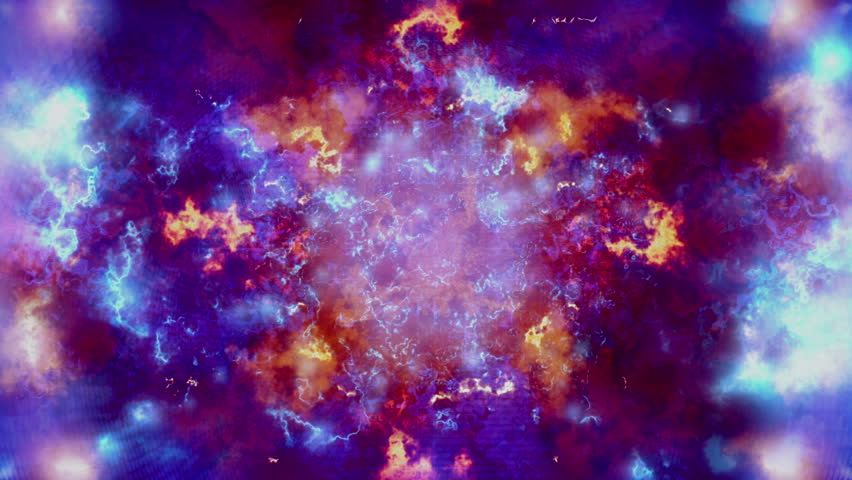 Blue cosmic eruption looping animated background   | Shutterstock HD Video #16270483