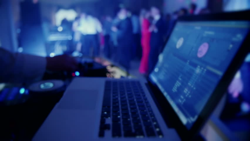 Dj mixes the track in the nightclub at party | Shutterstock HD Video #16297777