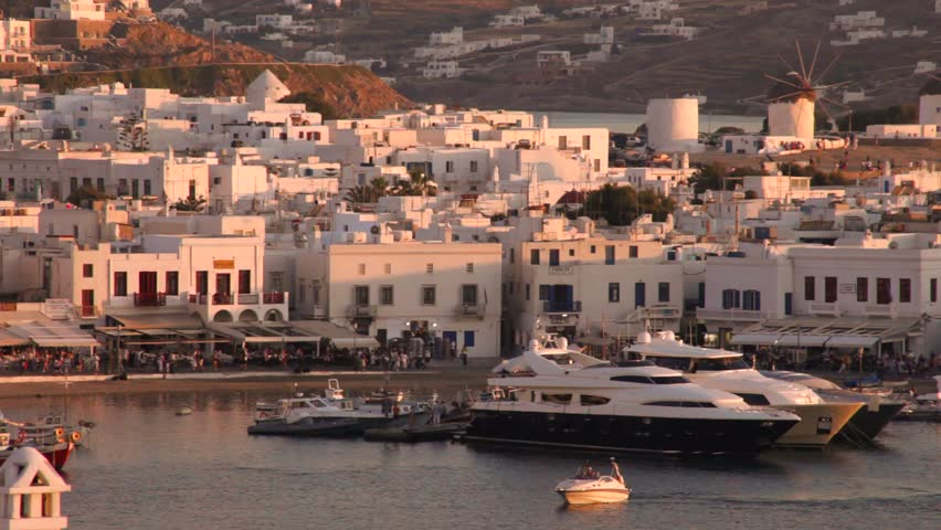Mykonos,Greece | Shutterstock HD Video #16347625