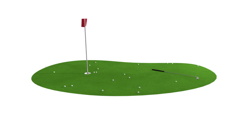 Green Golf Course Animation Golf Stock Footage Video 100 Royalty Free 16372891 Shutterstock