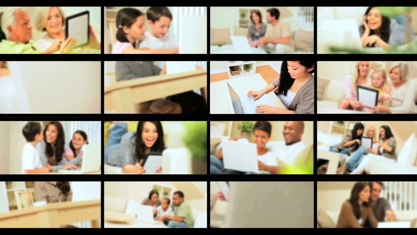 Montage of Wireless Technology in the Home | Shutterstock HD Video #1644610