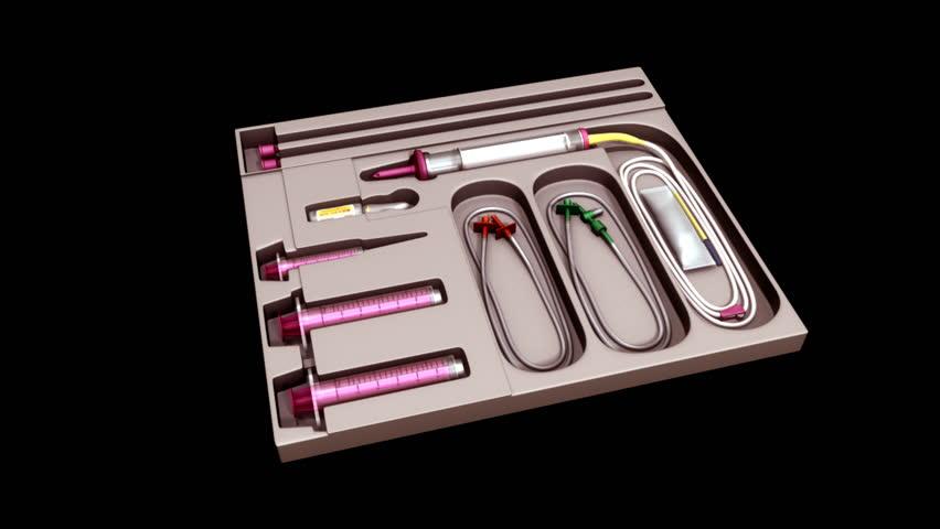 Catheter set   Shutterstock HD Video #16695457