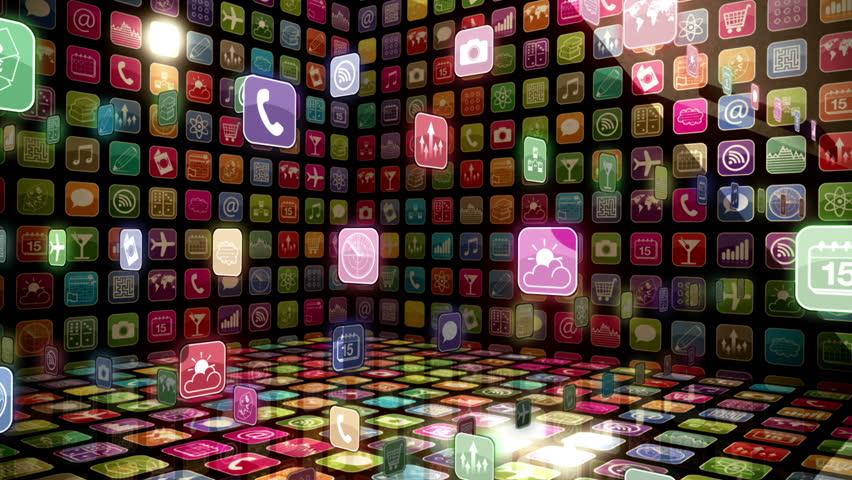 Mobile App Showcase | Shutterstock HD Video #1675273