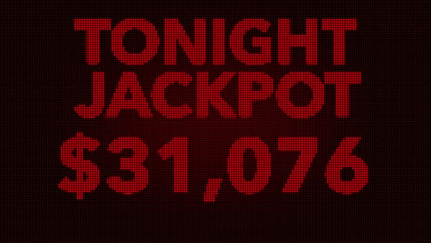 4K Winning 50000 USD Jackpot Retro Gambling Machine Display Animation   Shutterstock HD Video #16756066