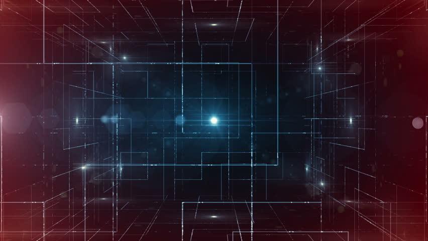 Digital data  technology numbers backgorund LOOP   Shutterstock HD Video #16761469