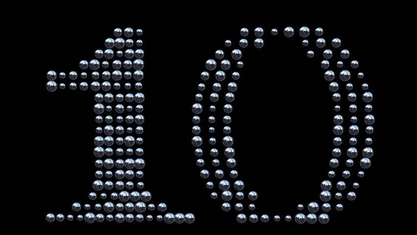 Countdown Iron Balls   Shutterstock HD Video #16767628