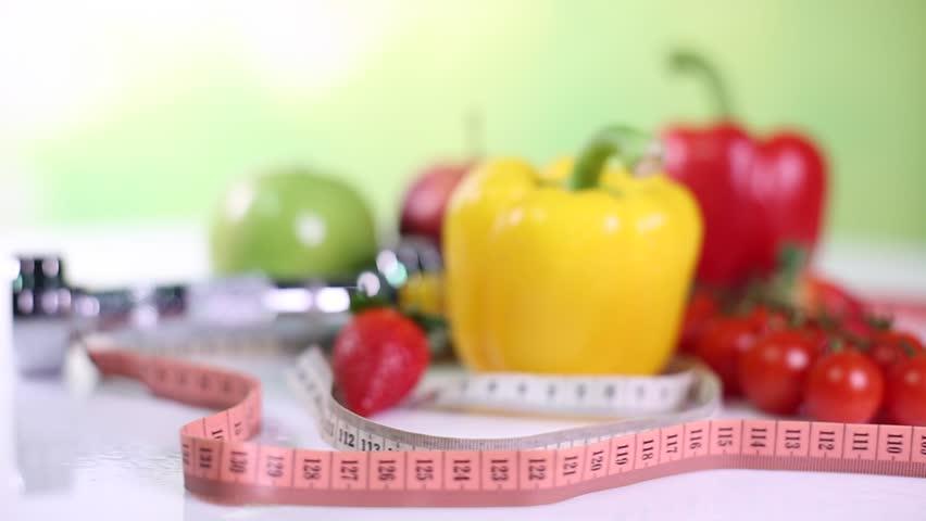 Healthy lifestyle concept, Diet