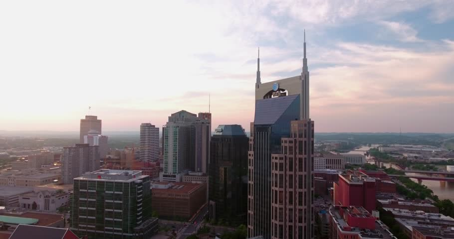 Batman Building AT&T Tower Nashville Tennessee