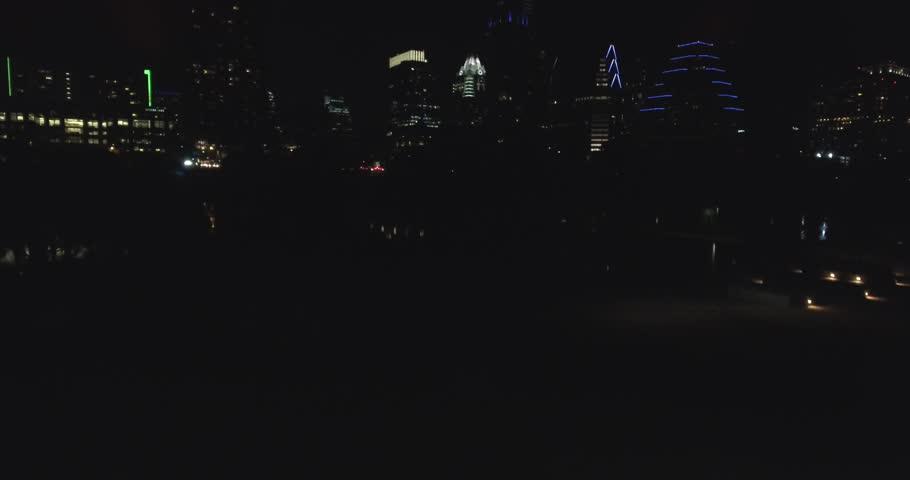 Austin Texas Downtown Night