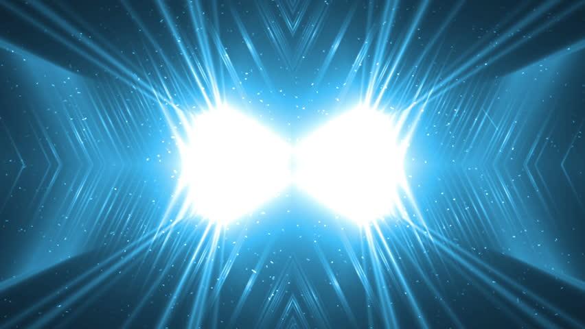 Floodlights Disco Blue Background. Disco spectrum lights concert blue spot bulb. Flood lights disco background with rays. Seamless loop. | Shutterstock HD Video #16819207
