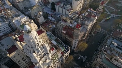 Buenos Aires, Argentina - November 21, 2015: Palacio Barolo, Buenos Aires, Argentina