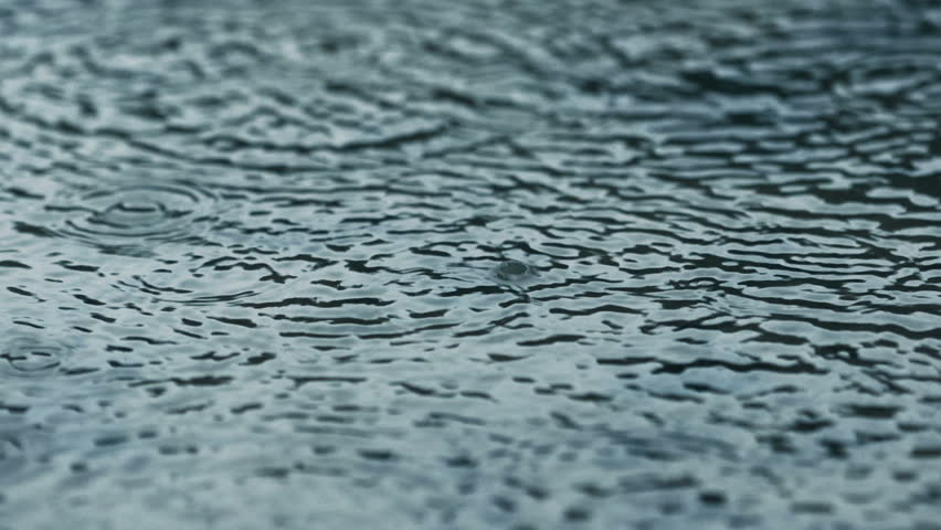 Raindrops Falling Into Puddle | Shutterstock HD Video #16865191
