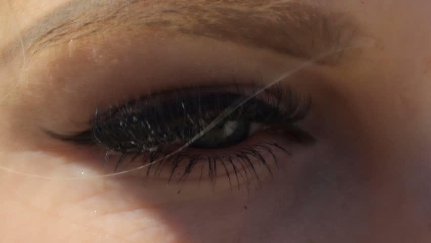 Beautiful face of pretty girl, Blonde   Shutterstock HD Video #16902259