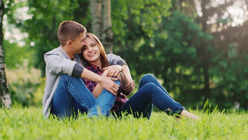 A Loving Couple Relaxing in Arkivvideomateriale (100 % royaltyfritt)  16931416 | Shutterstock